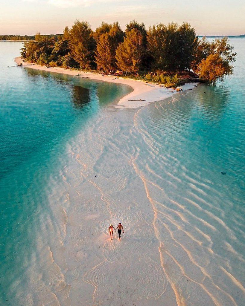 Pulau Dodola, Destinasi Ikonik Wisata di Pulau Morotai